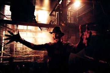 Robert Englund as Freddy Krueger in New Line's Freddy Vs. Jason