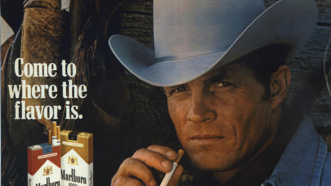 Ex-Marlboro man dies from smoking-related disease