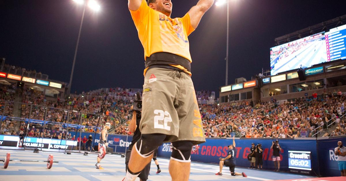 15 Inspiring Images From The CrossFit Games