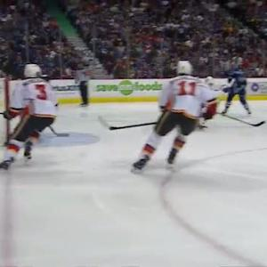 Kenins fires one-timer past Hiller