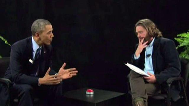 Presidential priorities: Obama chooses comedy over crises