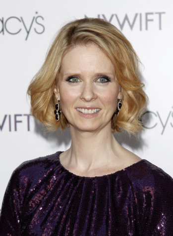 FILE - This is a Tuesday, May 25, 2010 file photo of actress Cynthia Nixon attending the Designing Women Awards in New York. Gay rights activists say actress Cynthia Nixon's insistence she chose to be a lesbian gives fodder to those who argue gays don't deserve marriage rights. (AP Photo/Peter Kramer, file)