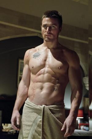Stephen Amell as Oliver Queen in 'Arrow,' Episode 1, Season 1 -- Jack Rowand/The CW