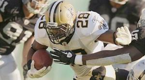 Saints not worked up about running game