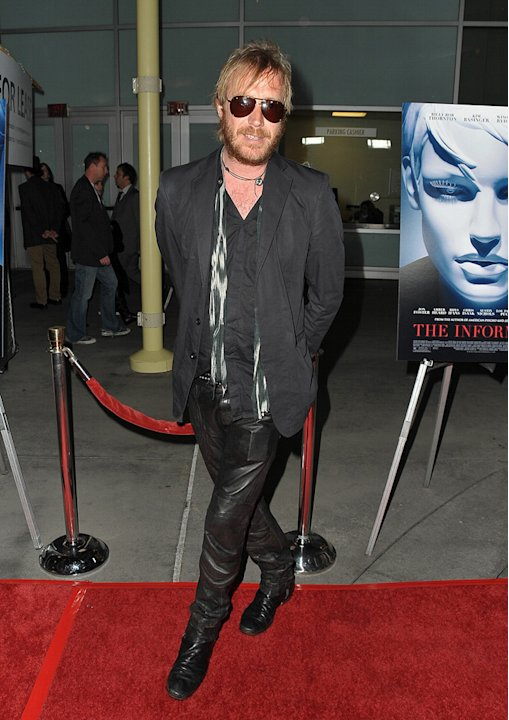 The Informers Premiere LA 2009 Rhys Ifans