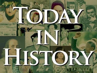 Today in History for Friday, February 8th