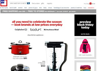 JCPenney Cyber Monday Sales