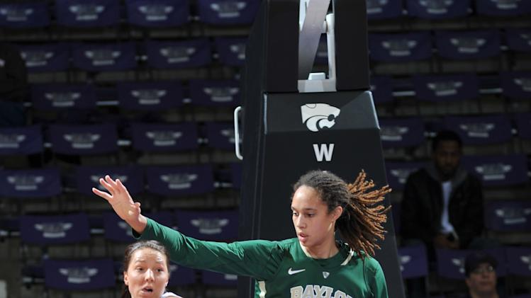 NCAA Womens Basketball: Baylor at Kansas State