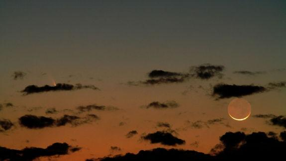 See Jupiter and Moon Shine with Comet Pan-STARRS This Week