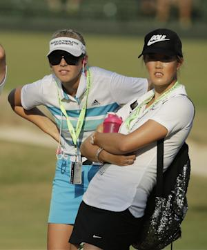 US Women's Open players arrive at Pinehurst No. 2