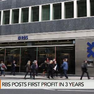 RBS Returns to Profit Amid Government Probes