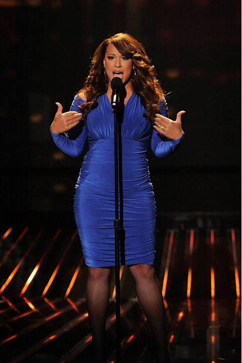 "Melanie Amaro performs ""The World's Greatest"" by R. Kelly on ""The X Factor."""
