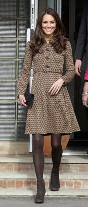 Kate Middleton Kicks Off Shoe Competition