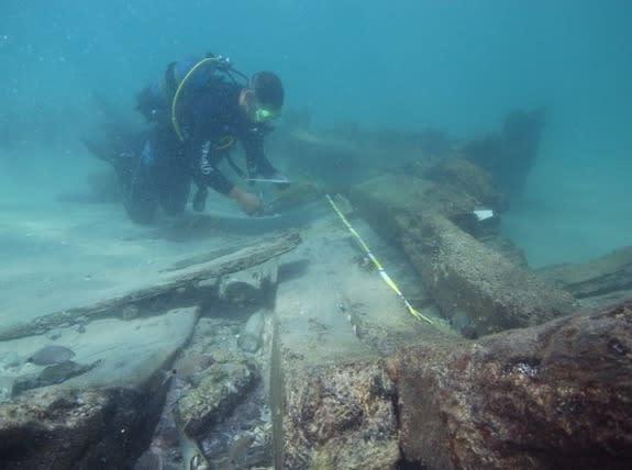 19th-Century Shipwrecks Discovered Off Israel's Coast
