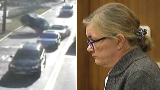 Alleged drugged up doctor causes violent wreck