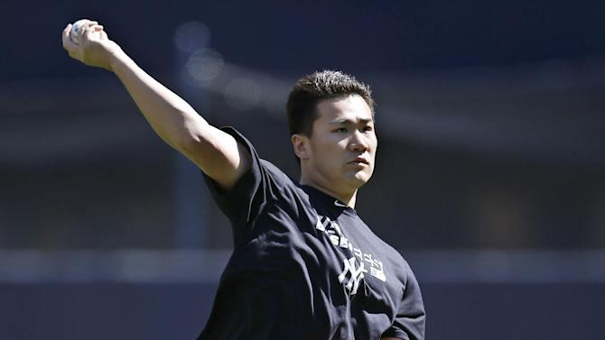 Yankees' Tanaka throws simulated game