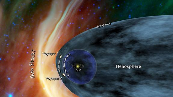 NASA Voyager 1 Spacecraft Nears Interstellar Space