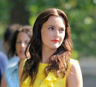 Leighton Meester goes bold on the set of Gossip Girl