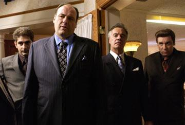 Michael Imperioli, James Gandolfini, Tony Sirico and Steven Van Zandt HBO's The Sopranos