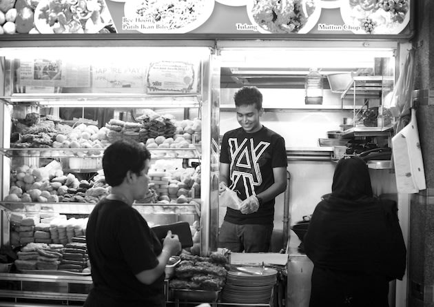 Be a street food warrior, not a hawker.