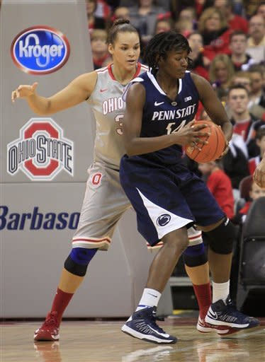 No. 8 Penn State women pull away in second half