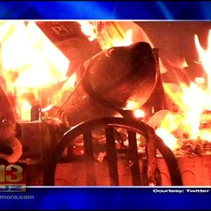 University Of Maryland's Testudo Gets A Little Heated Over Offering; Statue Reportedly Not Damaged After Fire