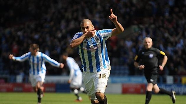 James Vaughan made 37 appearances on loan for Huddersfield last season