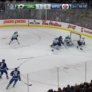 Kari Lehtonen Save on Bryan Little (09:45/2nd)