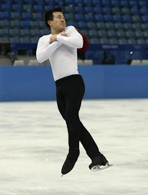 Patrick Chan's time comes at the Sochi Olympics