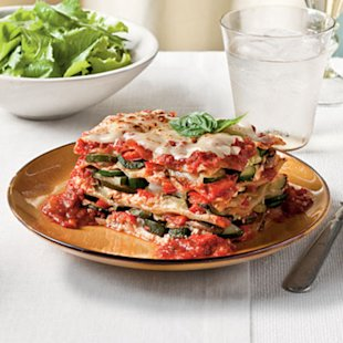 Fresh Vegetable Lasagna for $3 a serving