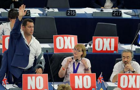 EU parliament refers scuffling UKIP lawmakers to police