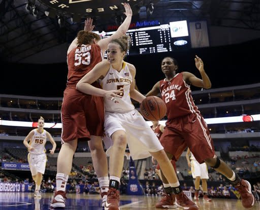 Prins' 32 help Iowa St. women beat Oklahoma 79-60