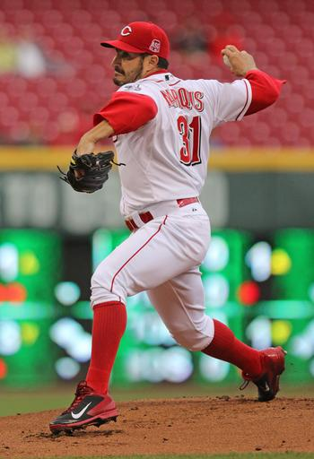 Marquis, Bruce lead Reds over Brewers 9-6