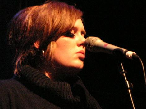Adele quickly shot to fame with her amazing songs and lyrics.