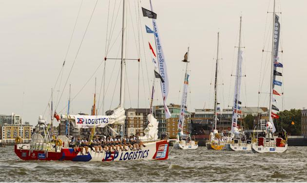 Sailing - Clipper Round the World Race - Start - London