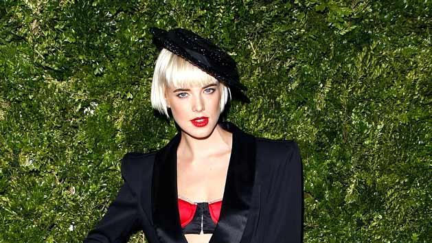 Deyn Agyness CFDA Vogue