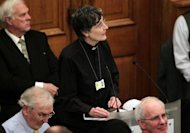 "<p>Janet Appleby, a vicar from Tyne and Wear, speaks during a meeting of the Church of England General Synod in central London on November 20. The Church of England has ""undoubtedly"" lost credibility after voting to reject the appointment of women bishops, its leader the Archbishop of Canterbury said Wednesday.</p>"
