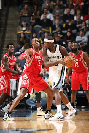 Conley, Randolph lead Grizzlies past Rockets 99-81