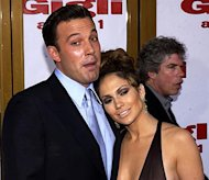 Premiere: Ben Affleck and Jennifer Lopez at the LA premiere of Gigli - 7/27/2003Photo: Albert L. Ortega, Wireimage.com