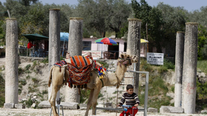 Holy Land archaeological treasure hurt by politics