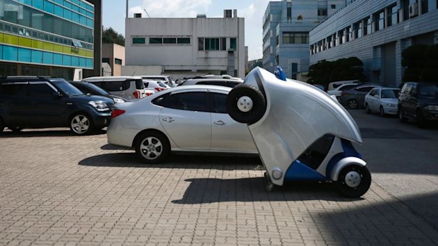 The 'Armadillo' Car Folds Up for Easy Parking (ABC News)