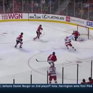 Corey Crawford Save on Andrej Nestrasil (04:09/1st)