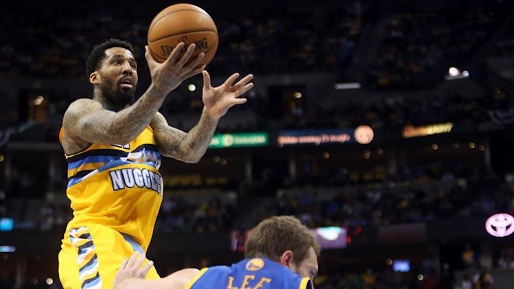 NBA: Playoffs-Golden State Warriors at Denver Nuggets