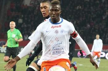 Yanga-Mbiwa extends Montpellier stay