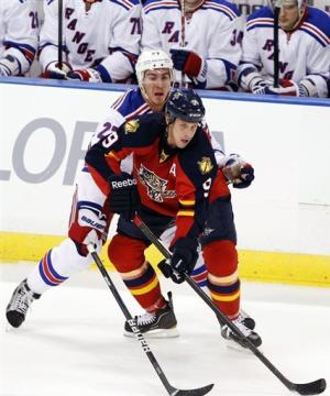 Rangers too much for Panthers 4-1
