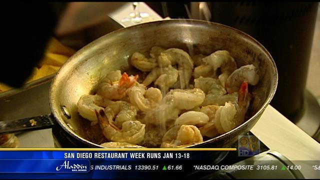 San Diego Restaurant Week runs January 13-18