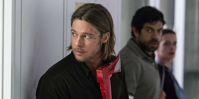 brad pitt blood world war z