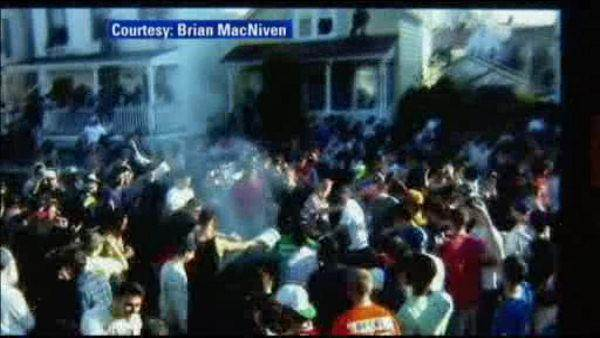 Multiple arrests at rowdy street party near Rutgers campus