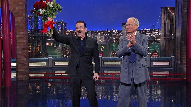 David Letterman - Tom Hanks in the Audience