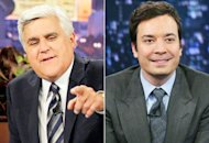 Lay Leno, Jimmy Fallon | Photo Credits: Paul Drinkwater/NBC, Lloyd Bishop/NBC